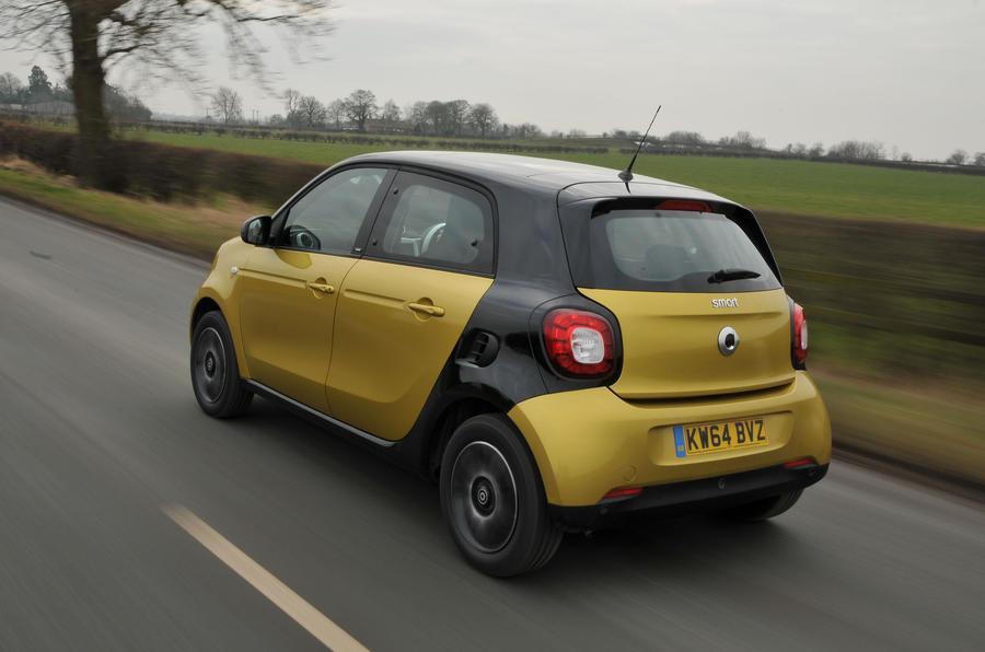 Smart Forfour rear