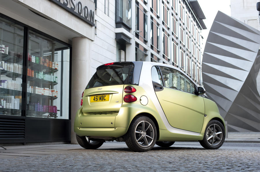 Smart launches 86g/km Fortwo