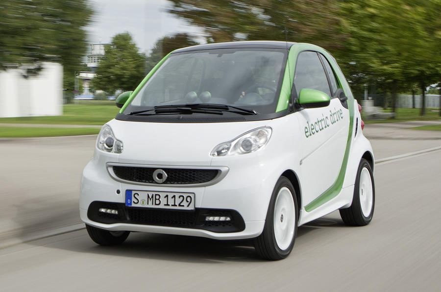 Third-gen Fortwo ED revealed