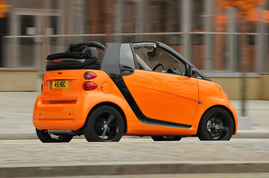 Smart Fortwo convertible rear quarter