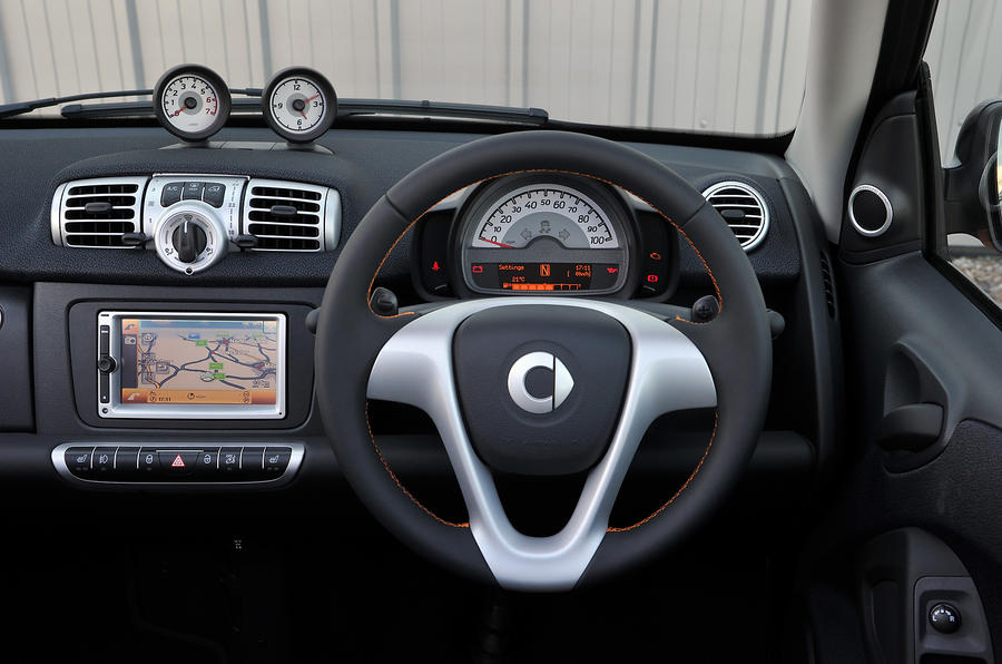 Smart Fortwo dashboard