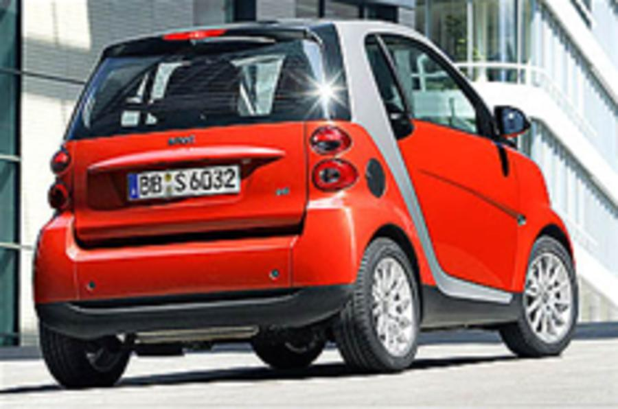 UK bound: Smart ForTwo CD