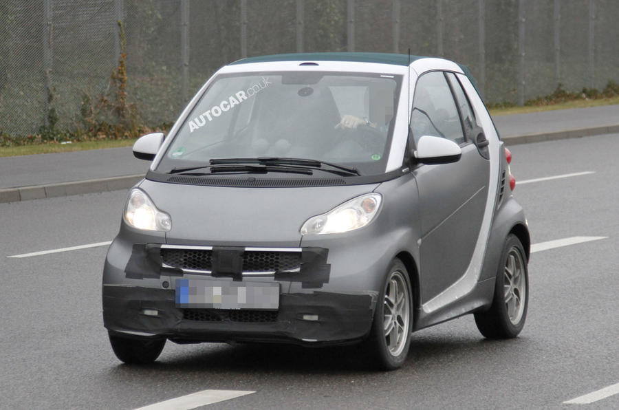 Spy pictures: Smart ForTwo