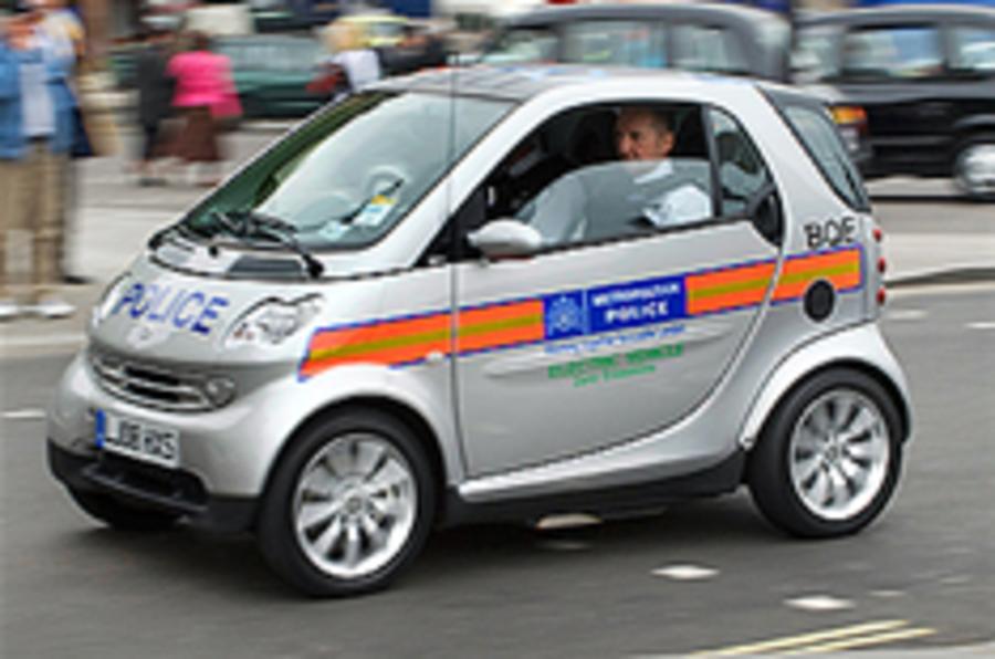 Police in alternative fuel pledge