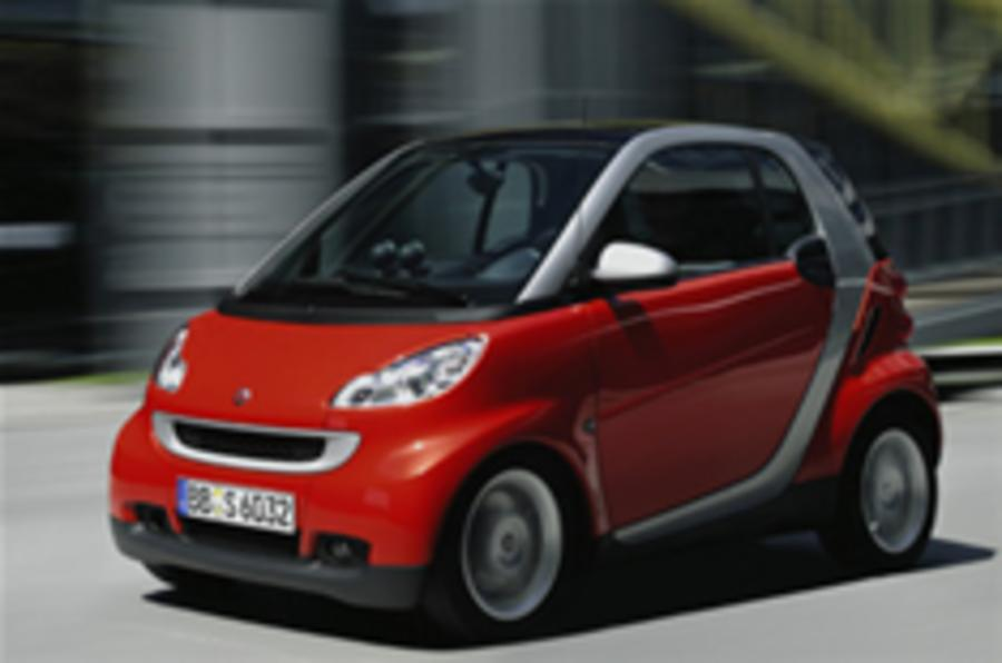 Smart upgrades diesel Fortwo