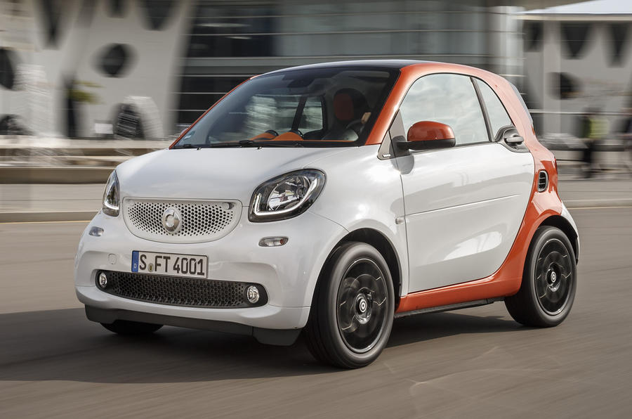 New Smart Fortwo and Forfour on sale from £11,125