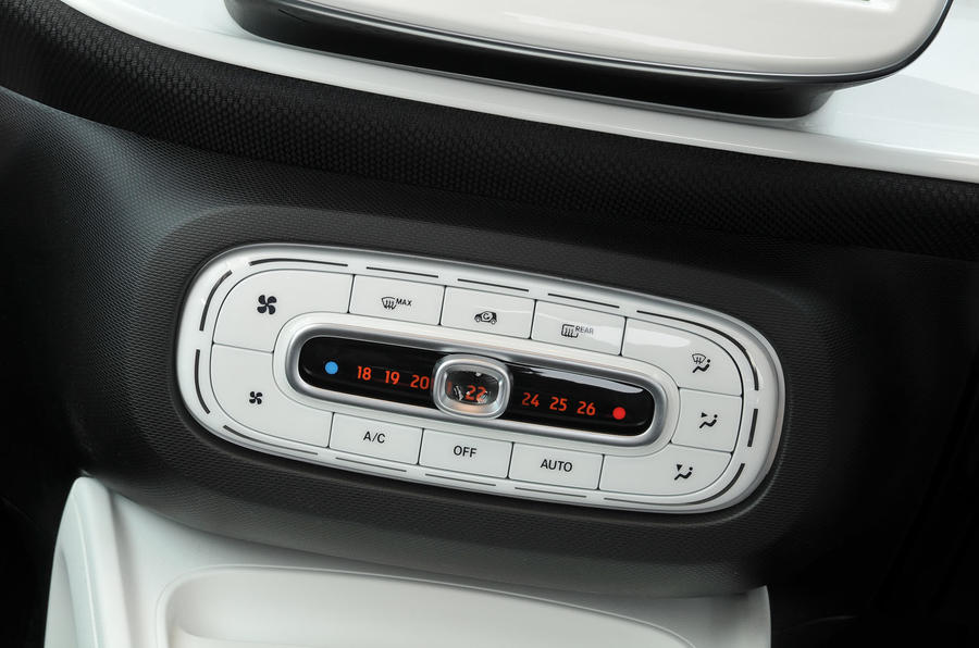 Smart Fortwo climate control