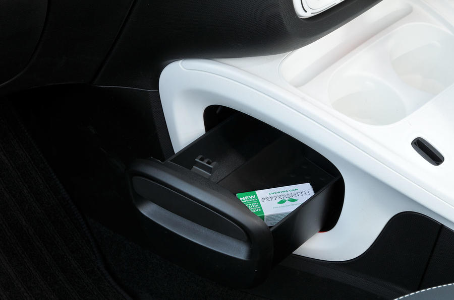 Smart Fortwo cubby holes