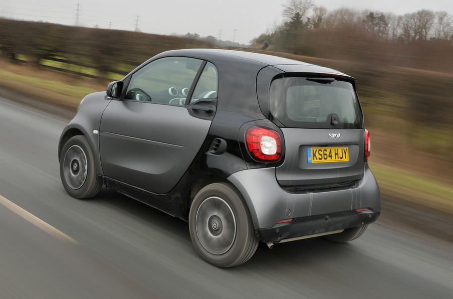 The Smart Fortwo follows a similar blueprint to the Smart City Coupé
