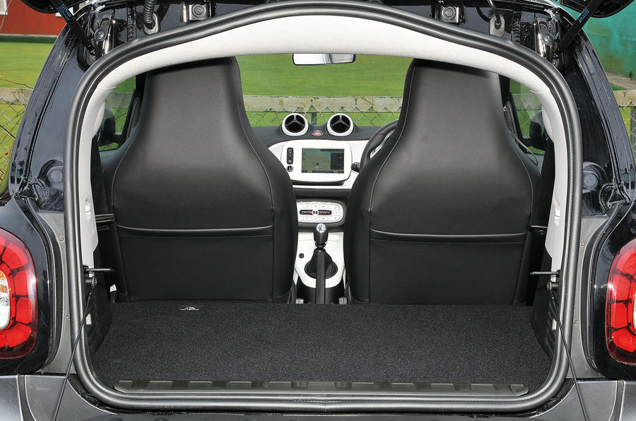 Smart Fortwo boot space
