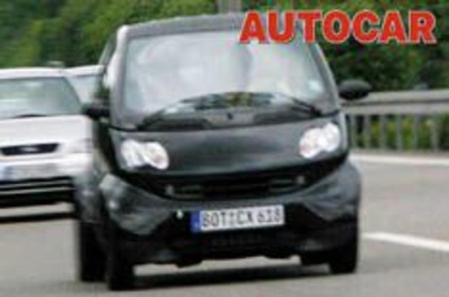 Smart's slicker city car spied