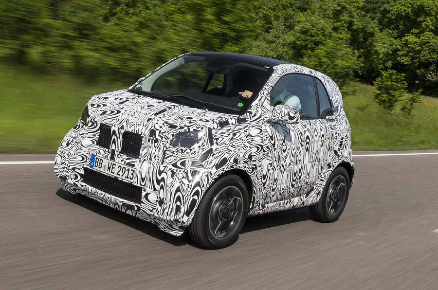 Smart Fortwo exclusive development drive
