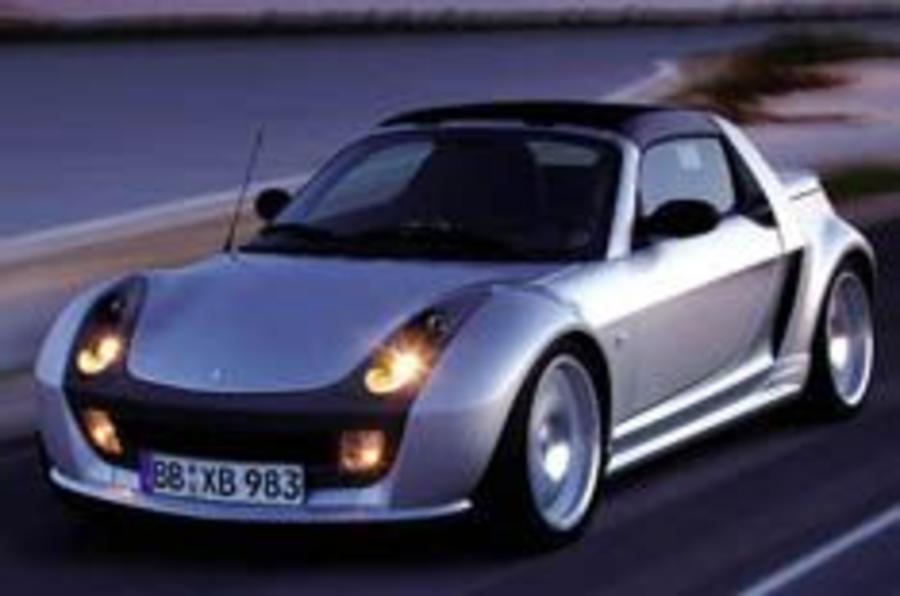 Smart Roadster beefs up