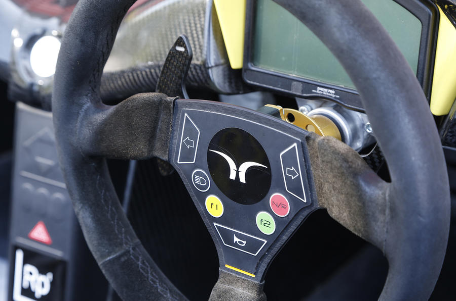 Elemental RP1 steering wheel
