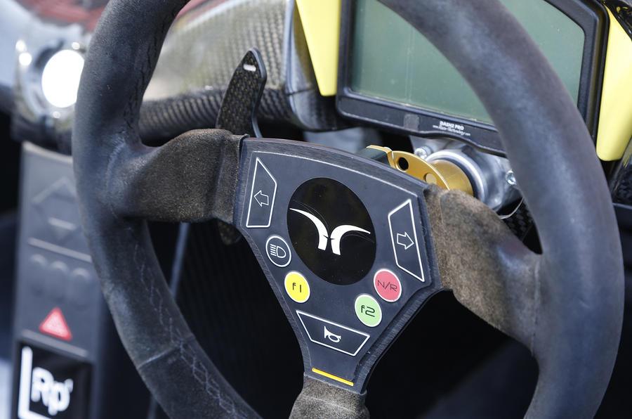 Elemental RP1 steering wheel