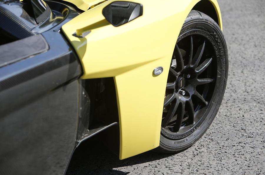 Elemental RP1 black alloy wheels