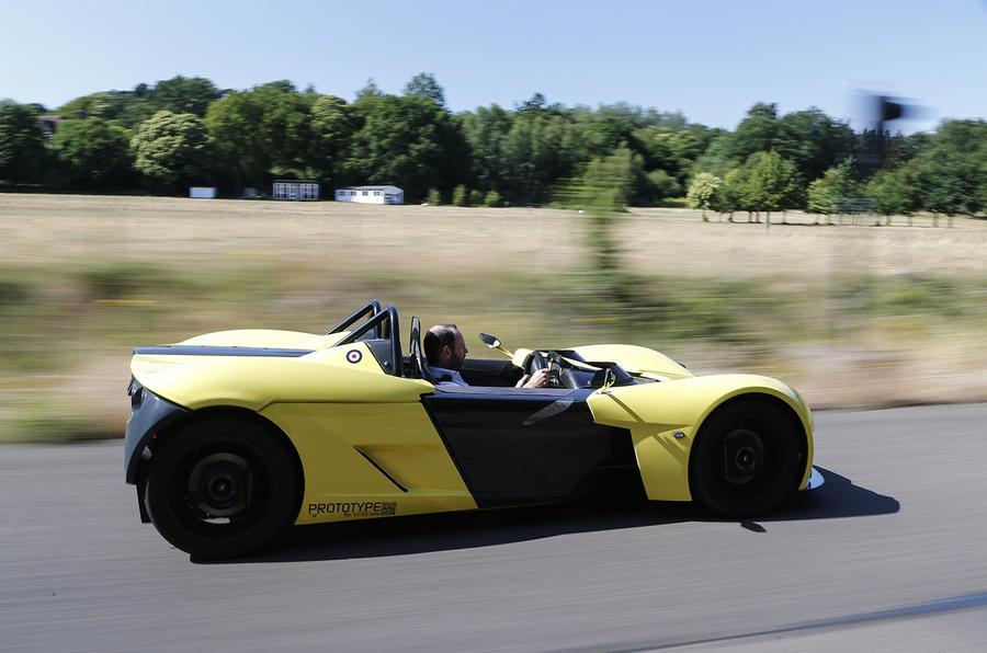 Elemental RP1 track car