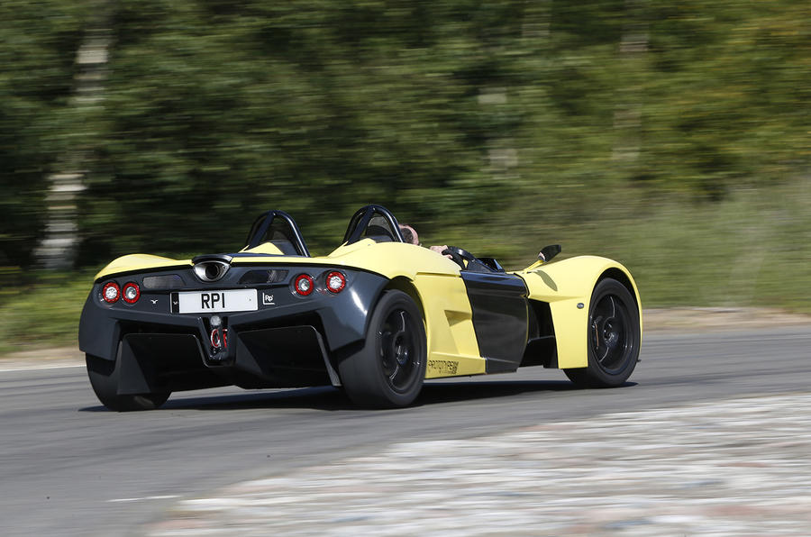 Elemental RP1 rear cornering