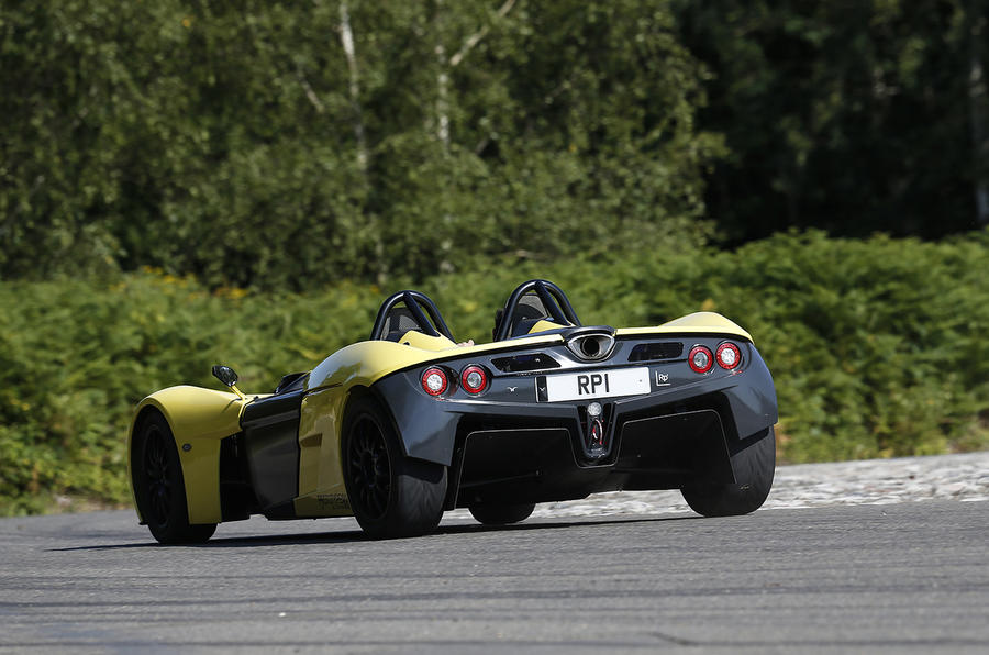 Elemental RP1 hard rear cornering