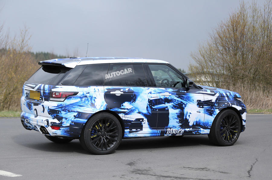 Land Rover plans hot Range Rover Sport RS for 2015