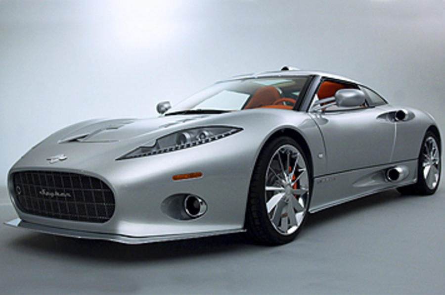 Spyker opens UK assembly line