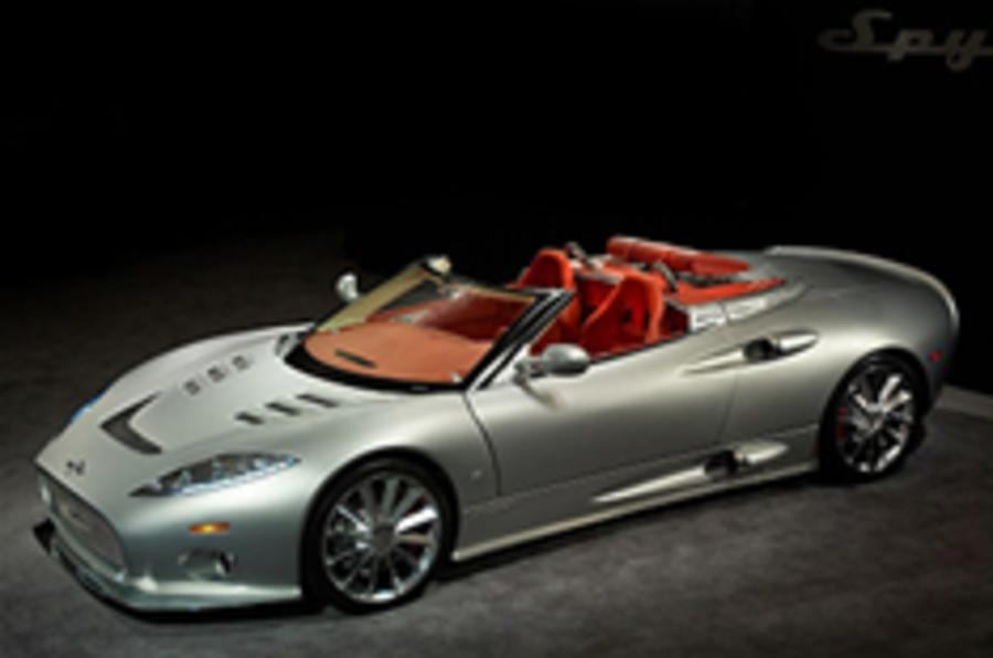 Spyker relocates to Coventry