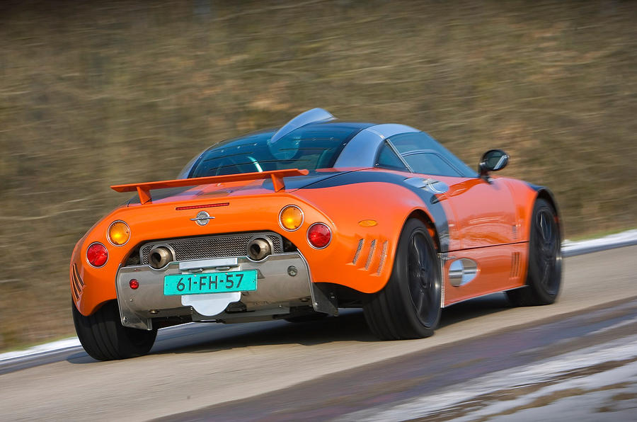 Lotus-tuned Spyker C8
