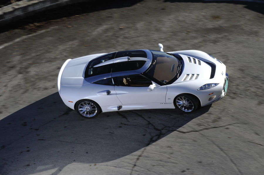Spyker C8 Aileron on video