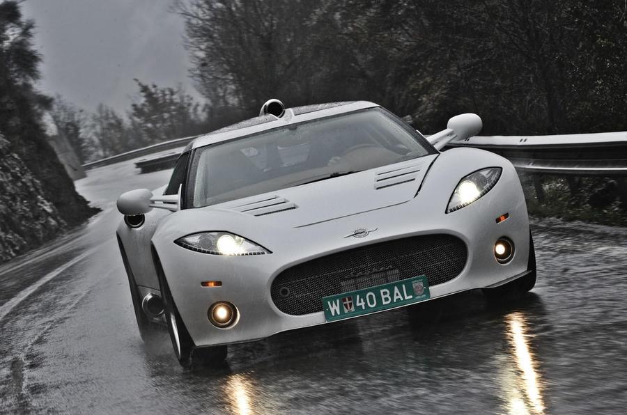 Spyker sells sports car business