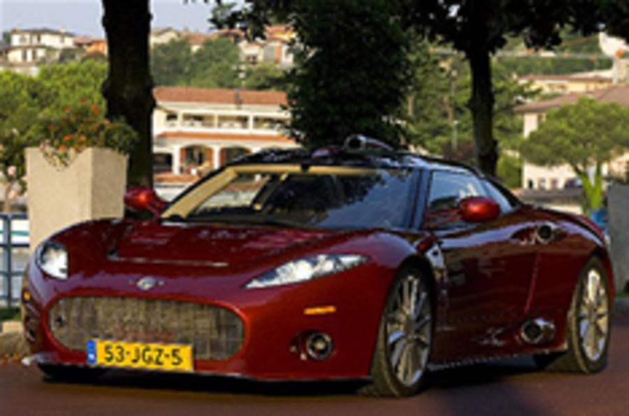 Spyker C8 Aileron spotted