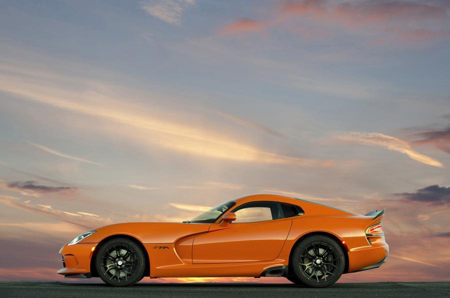 SRT Viper TA side profile