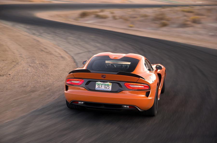 SRT Viper TA rear cornering