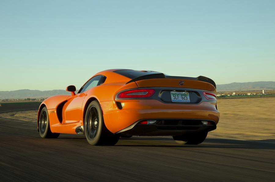 SRT Viper TA rear end