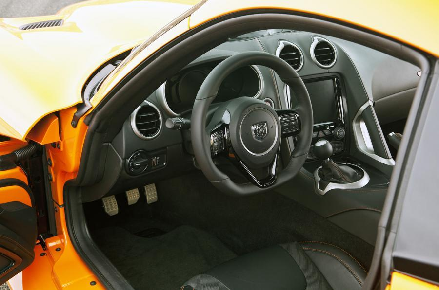 SRT Viper TA dashboard