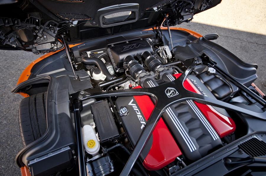 8.4-litre V10 SRT Viper TA engine