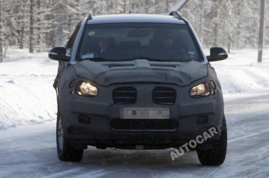 Ssangyong C200 spied testing