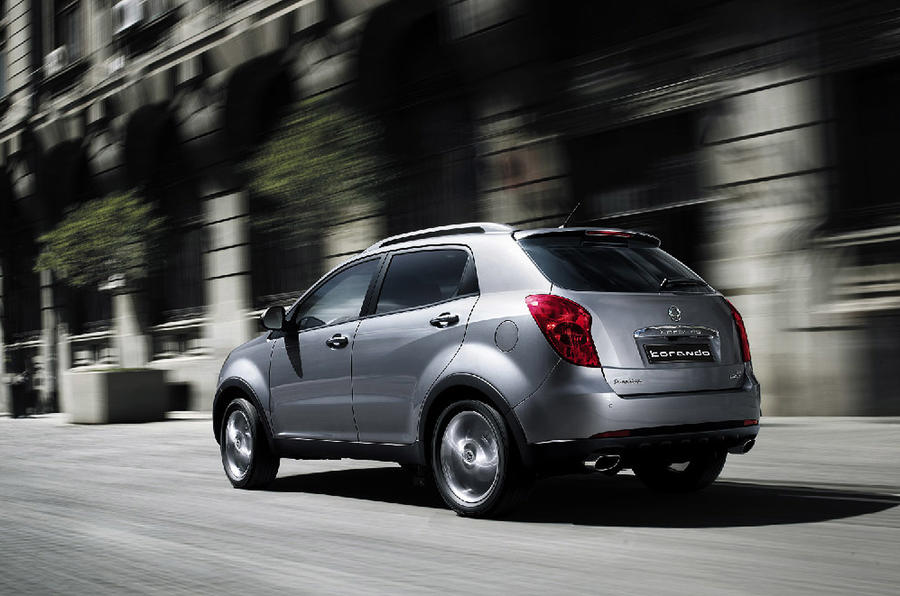SsangYong plans two new models