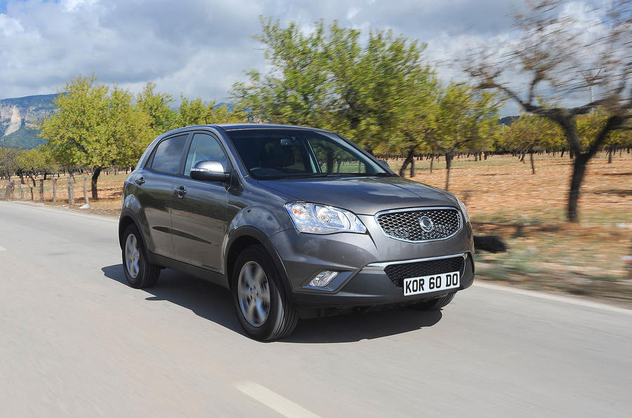 Ssangyong safe in the UK