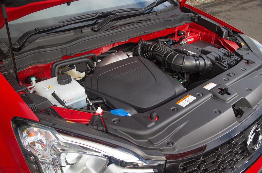 2.2-litre Ssangyong Korando diesel engine