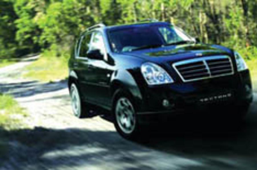 Mid-life tweaks for the Rexton