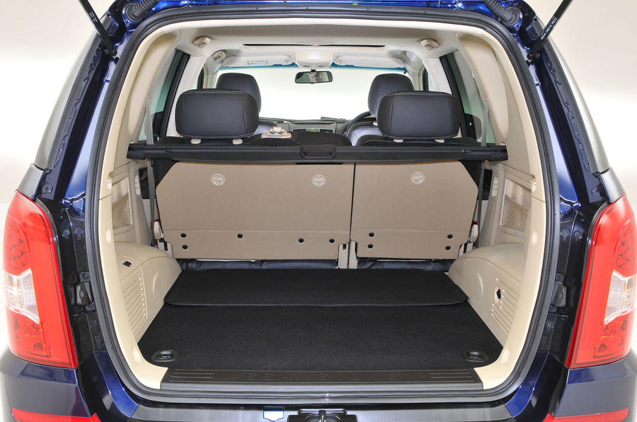 Ssangyong Rexton boot space