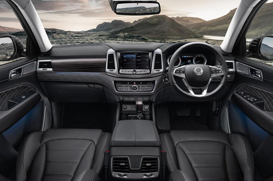 Ssangyong Rexton Review 2018 Autocar