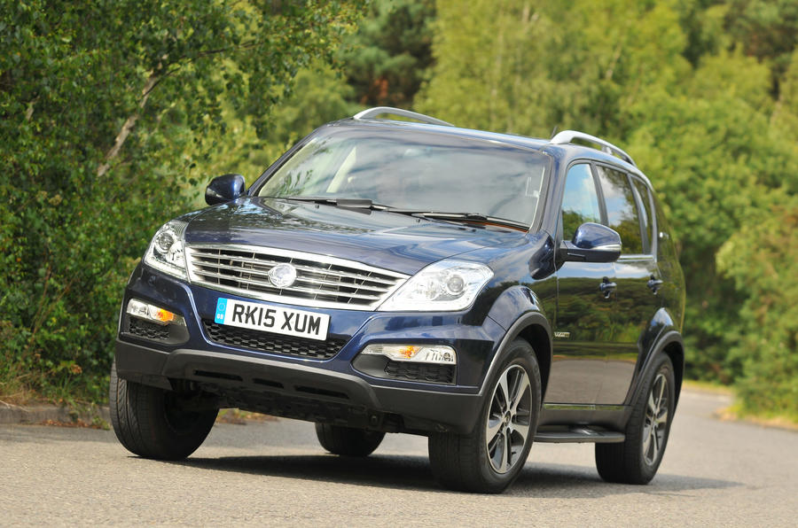 ssangyong rexton review 2017 autocar. Black Bedroom Furniture Sets. Home Design Ideas