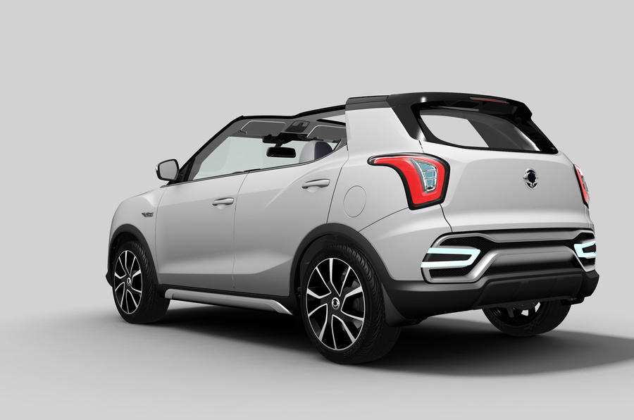 SsangYong previews new X100 crossover with Paris motor show concepts
