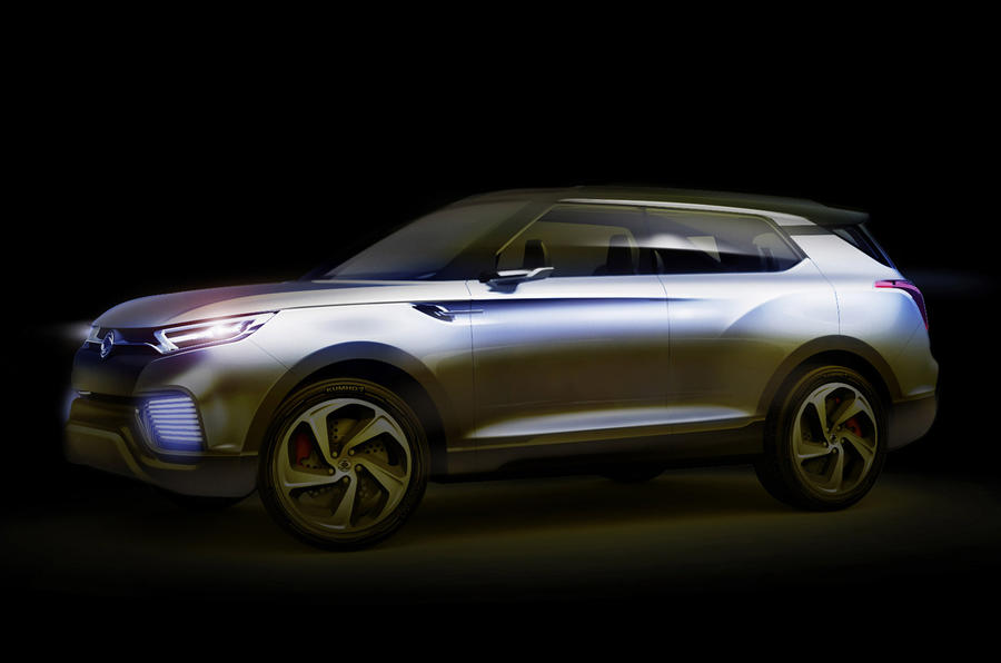 Ssangyong XLV concept for Geneva reveal