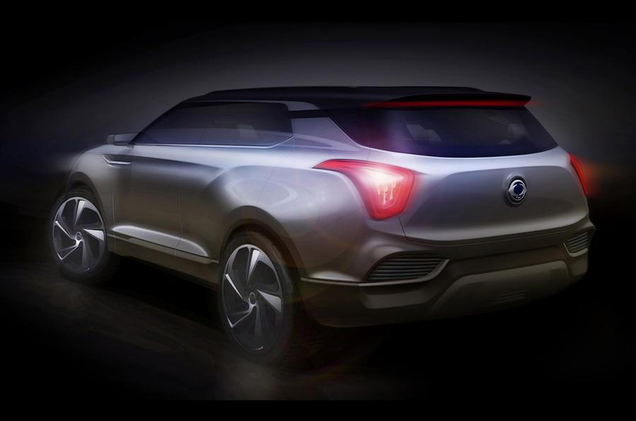 Ssangyong XLV concept for Geneva reveal