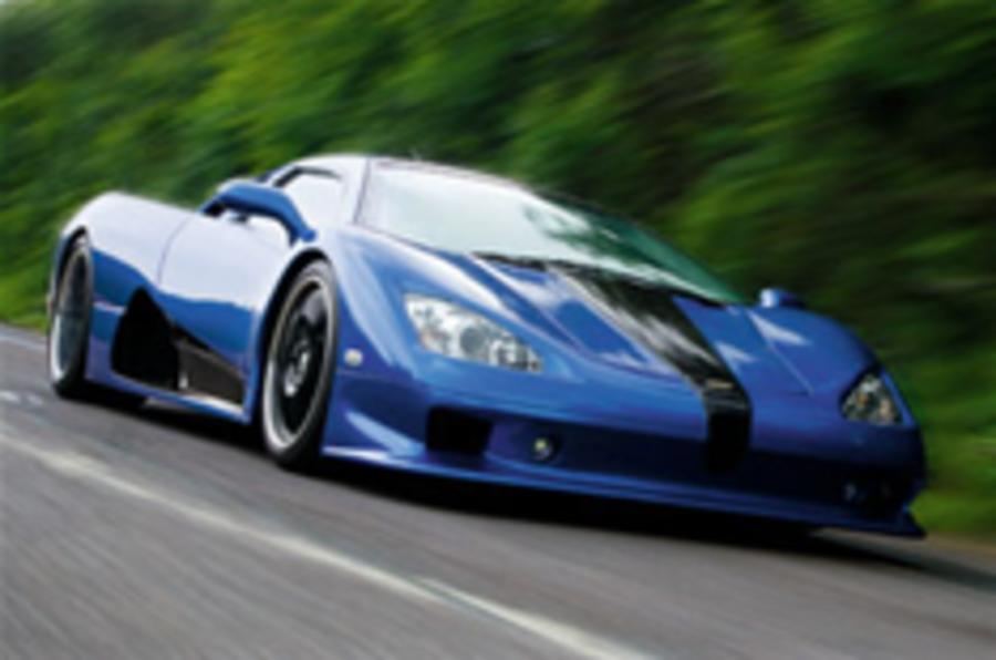 Ultimate Aero gears up to beat Veyron