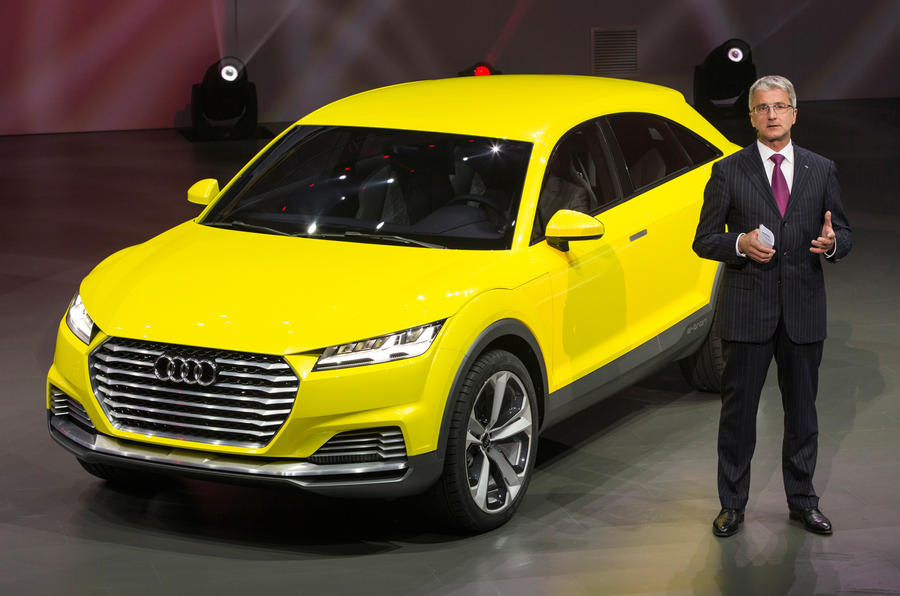 Audi plots leadership of the world premium car market by 2020
