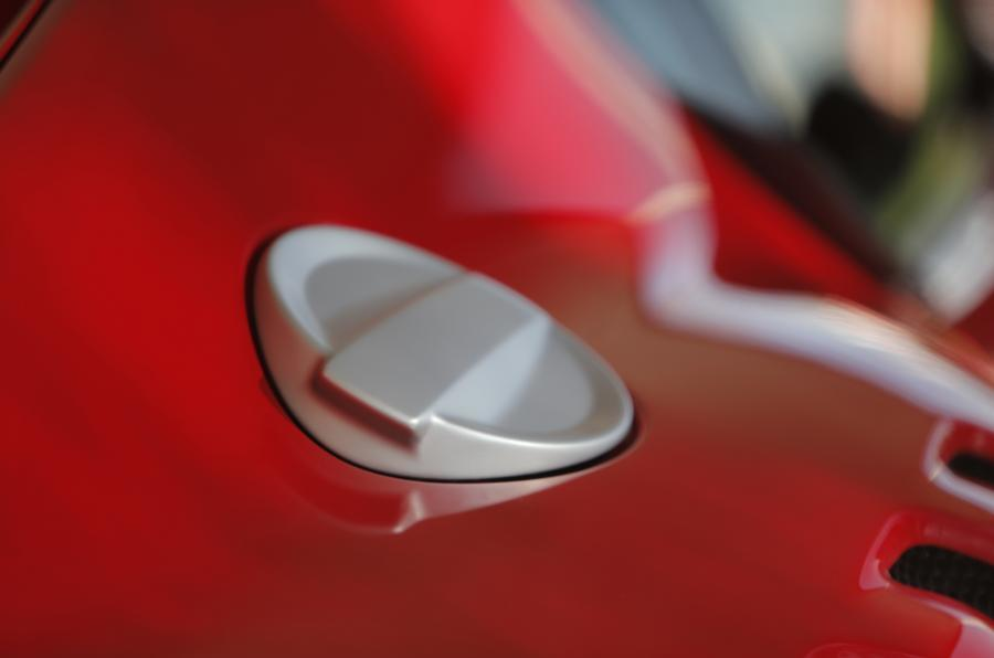 Ferrari F12tdf chrome fuel cap