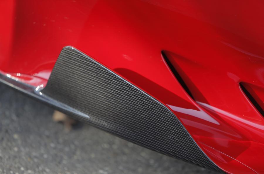 Ferrari F12tdf side skirts